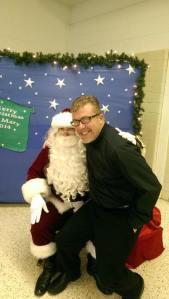 Fr Gary and Santa